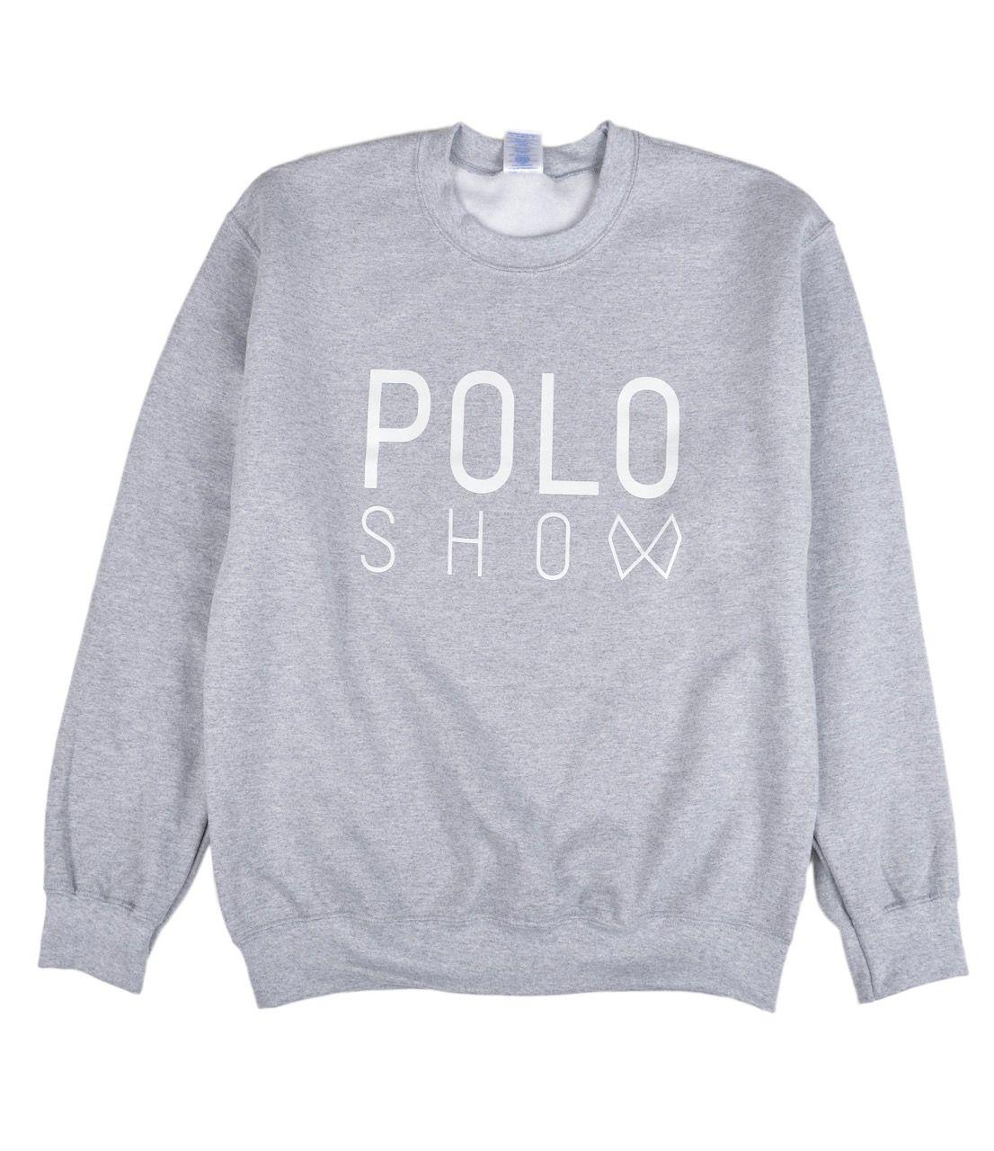 Poloshow Sweater sportygrey 1