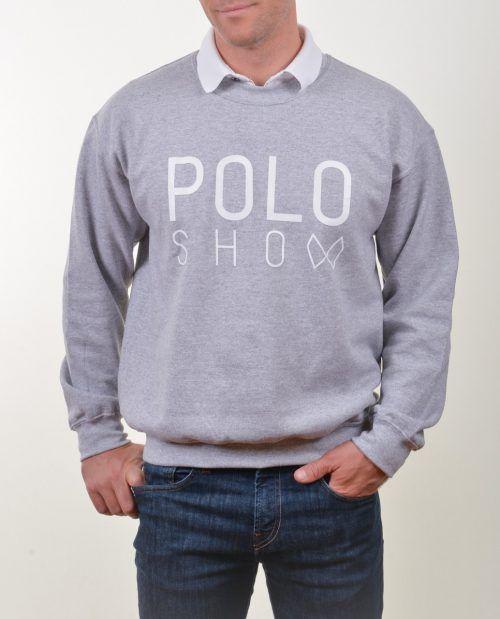 Poloshow Sweater sportygrey 4