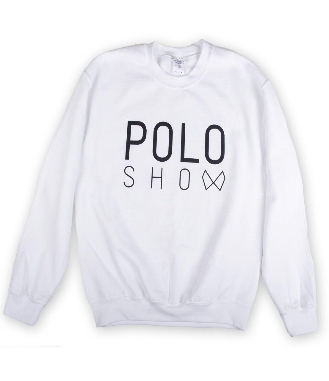 Poloshow Sweater white 1