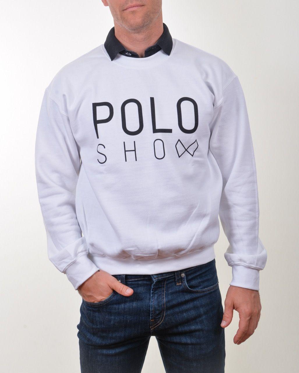 Poloshow Sweater white 4