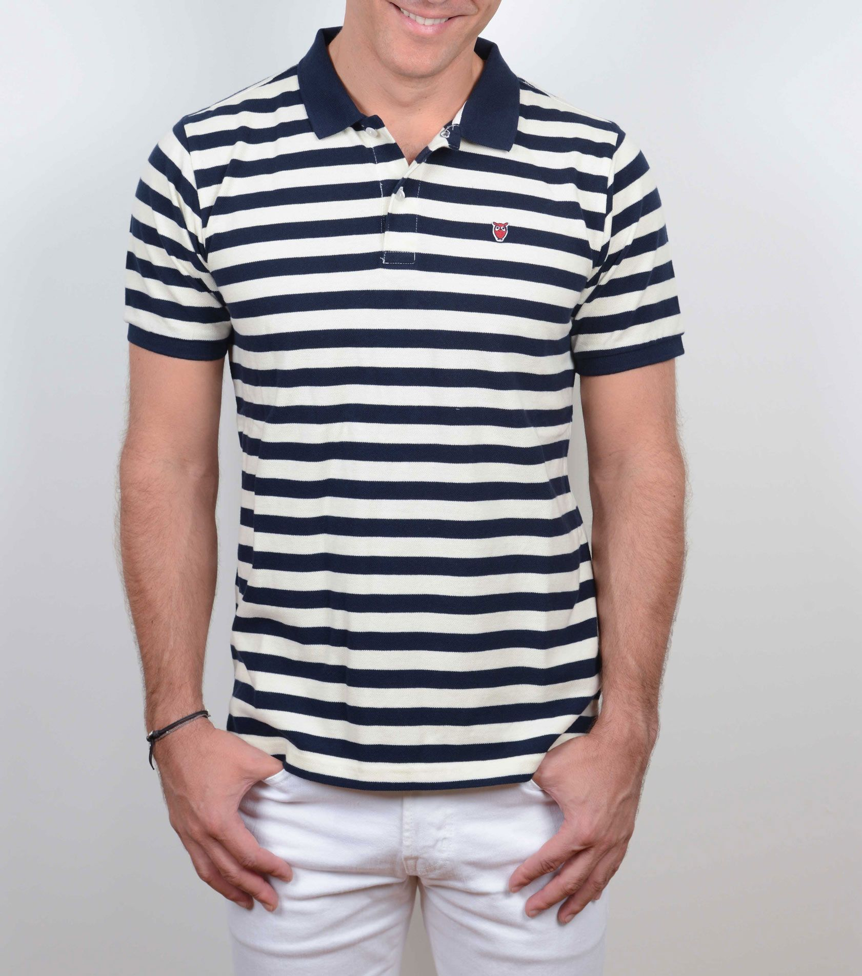 Poloshow Knowledge Cotton Apparel Stripes V80 9365 2