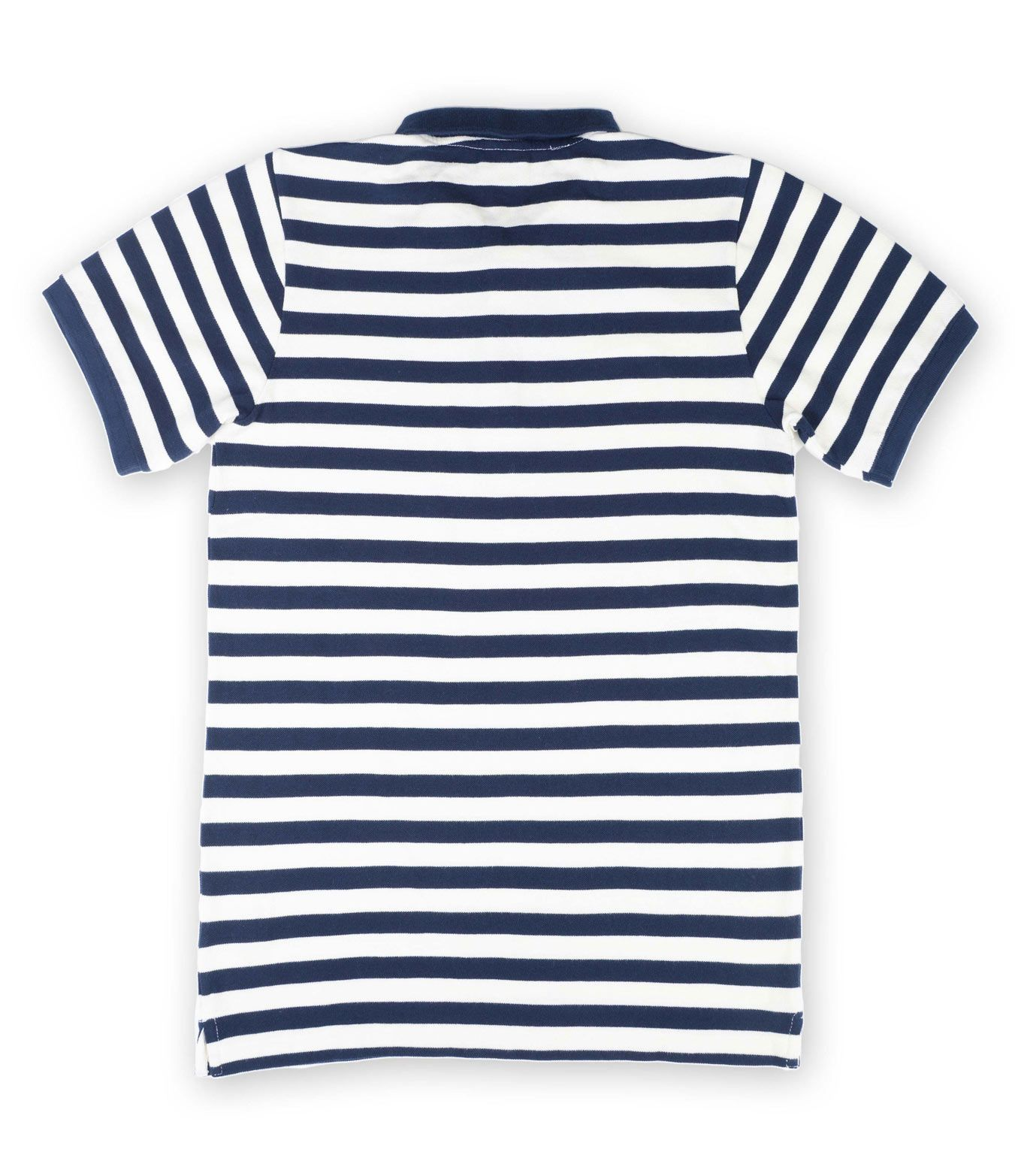 Poloshow Knowledge Cotton Apparel Stripes V80 9514WH