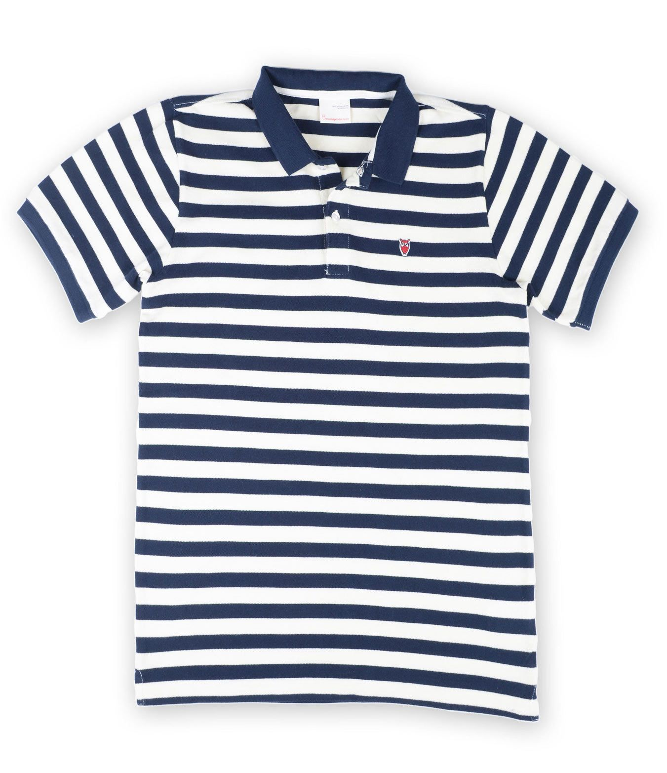 Poloshow Knowledge Cotton Apparel Stripes V80 9515WH