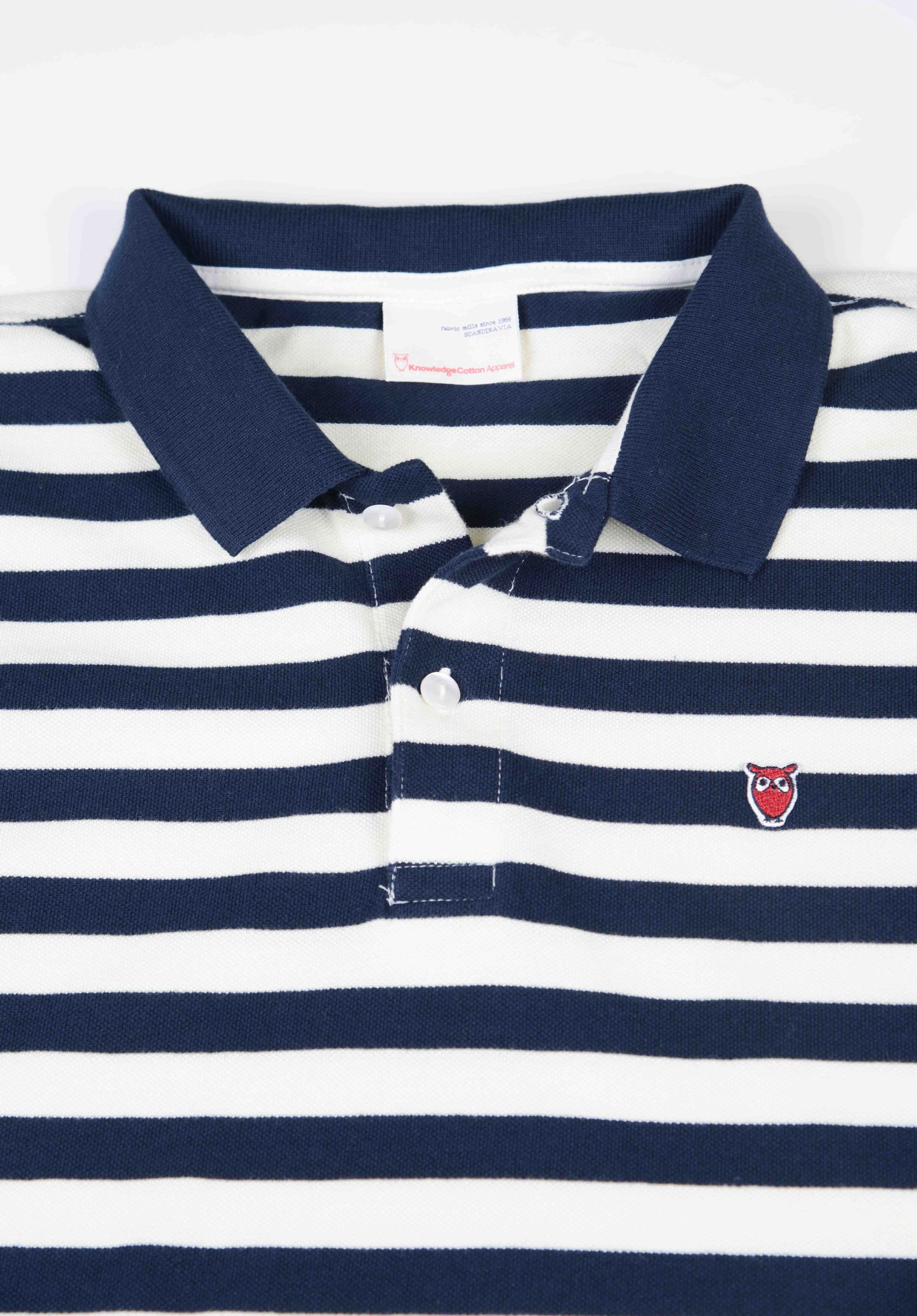 Poloshow Knowledge Cotton Apparel Stripes V80 9516 2