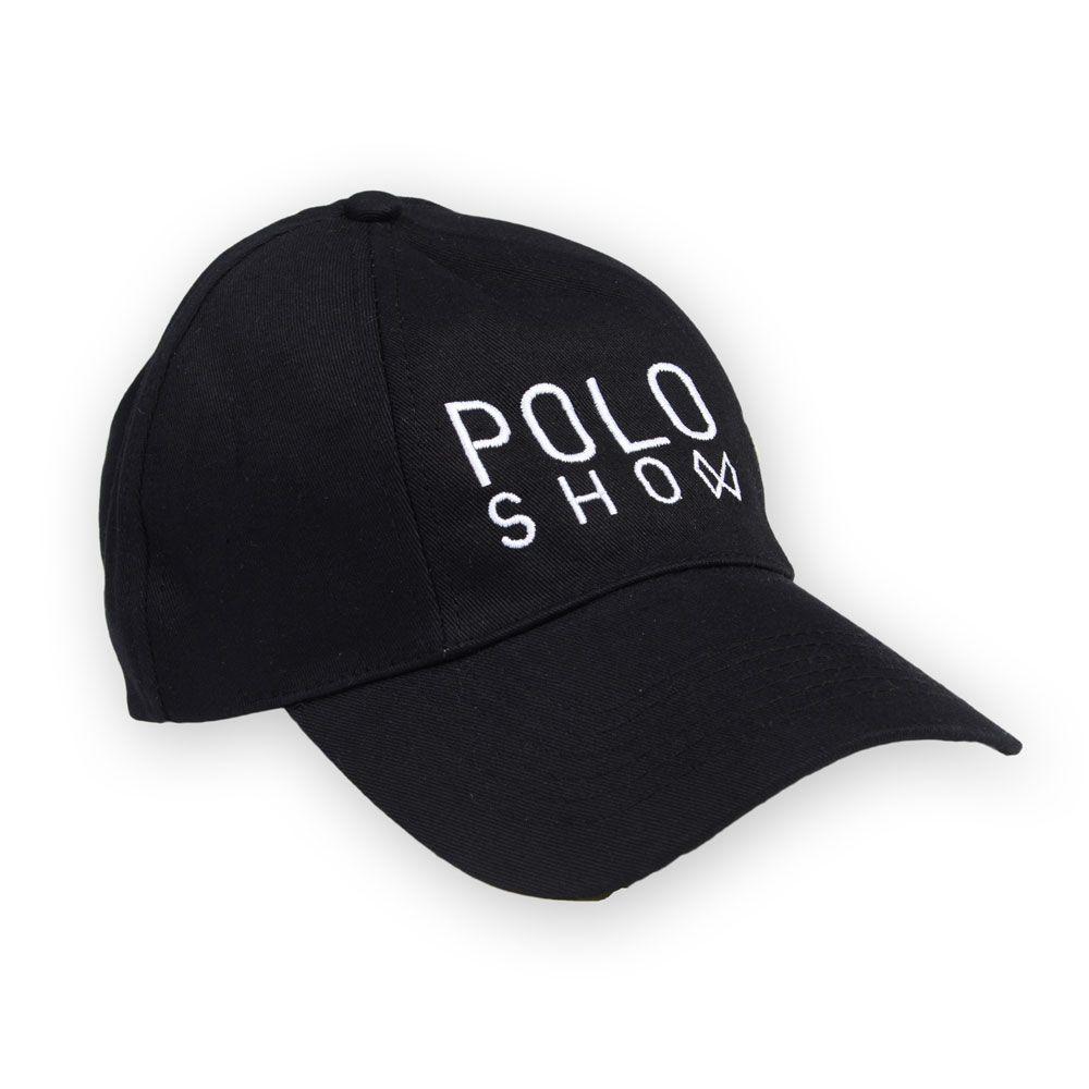 Poloshow cap Poloshow schwarz 1