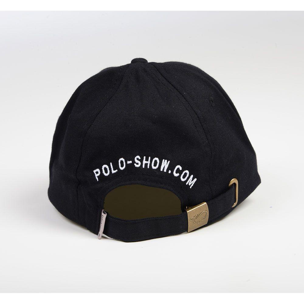 Poloshow cap Poloshow schwarz 3