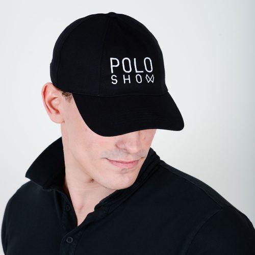 Poloshow cap Poloshow schwarz 4