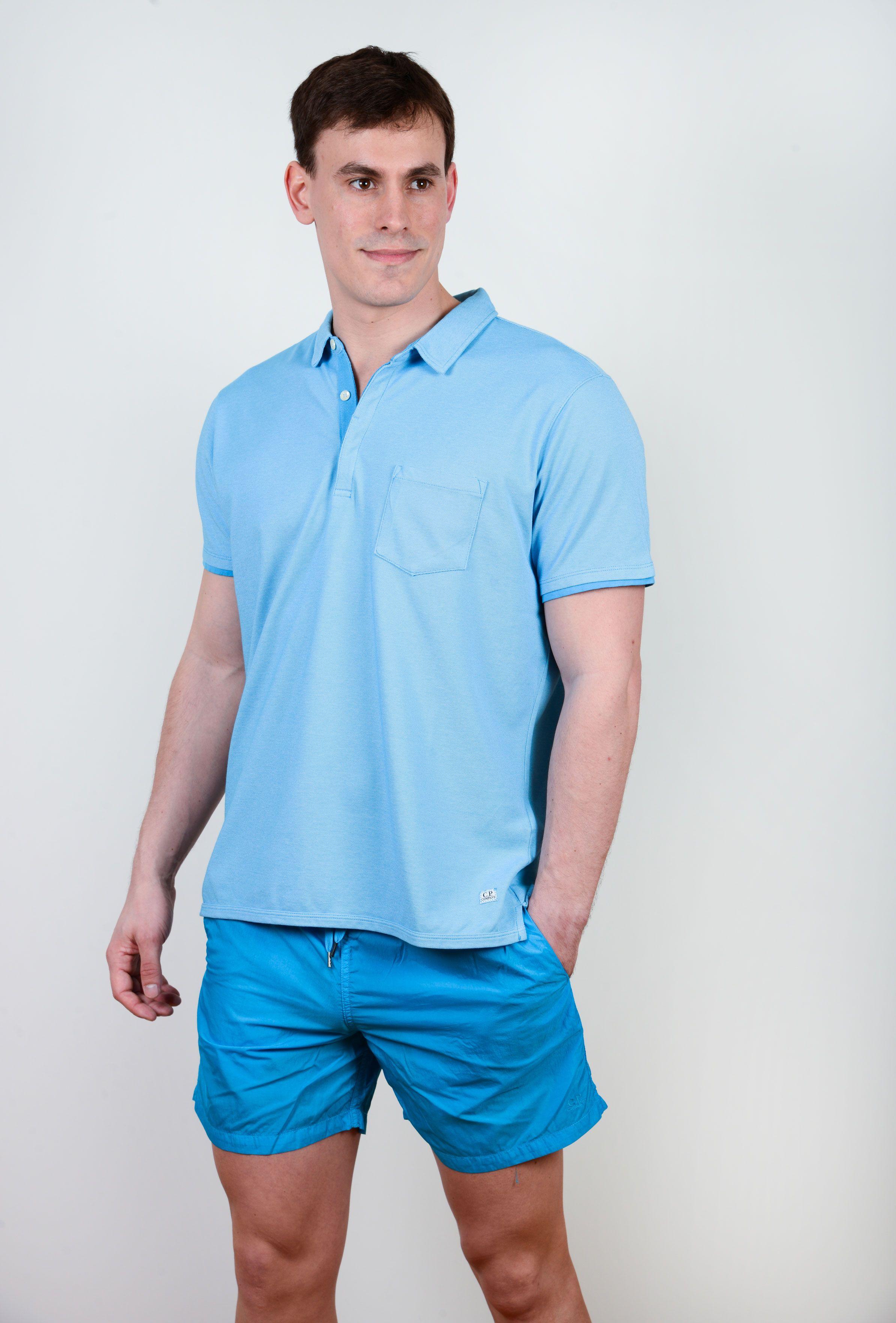 Poloshow poloshirt C.P.Compamy blau 02CMPL018A000373G 8