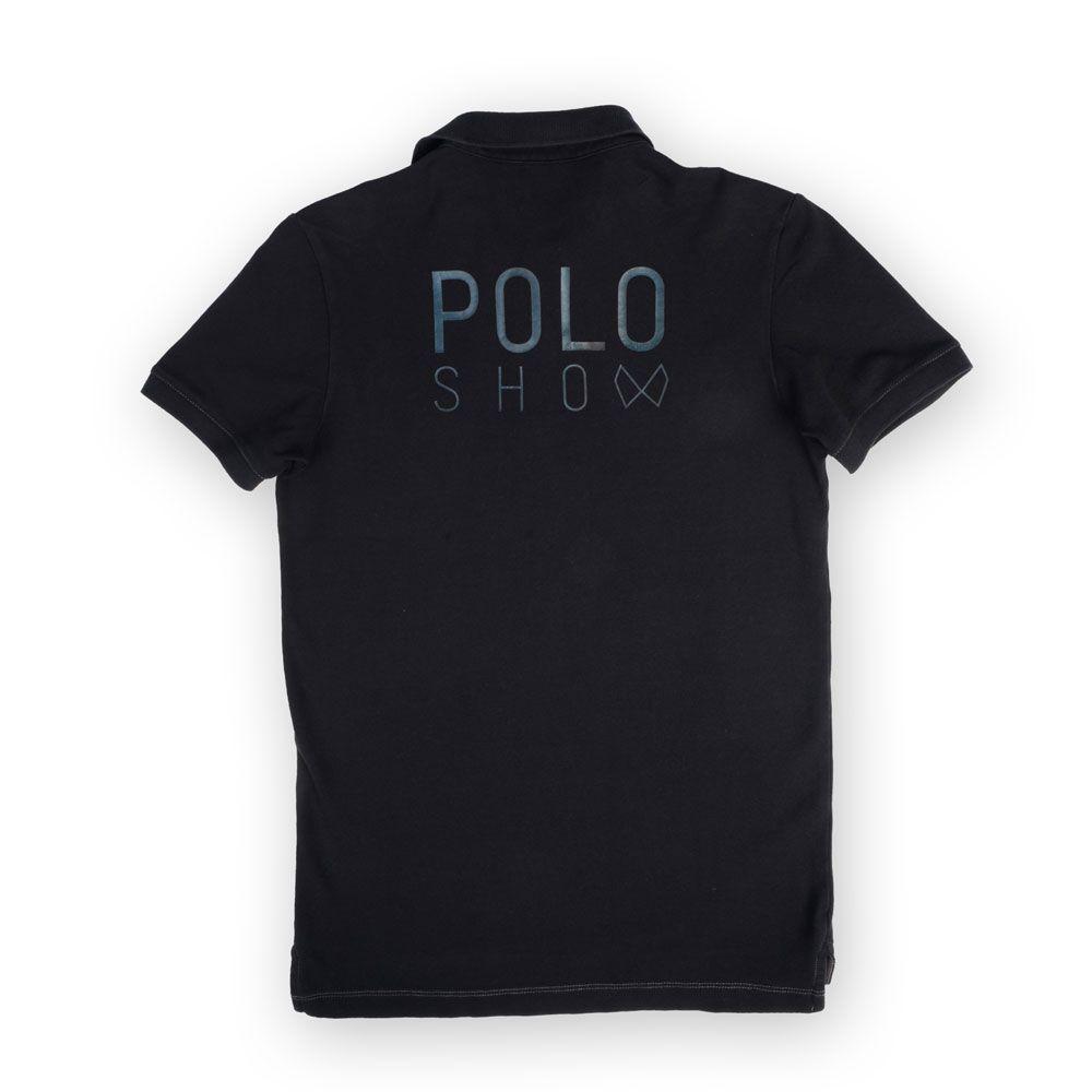 Poloshow poloshirt Haute Casual schwarz 2