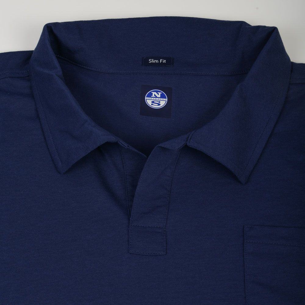 Poloshow poloshirt North Sails blau 6945430000035540 3