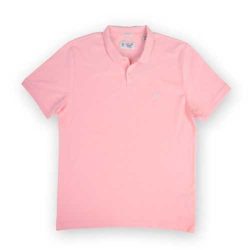 Poloshow poloshirt Penguin pink OPKM7557 1