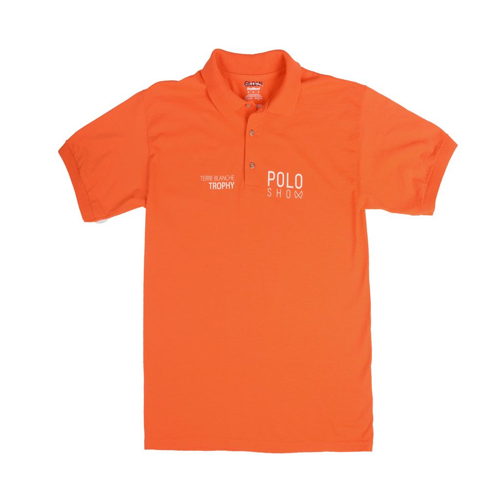 Poloshow poloshirt orange 1