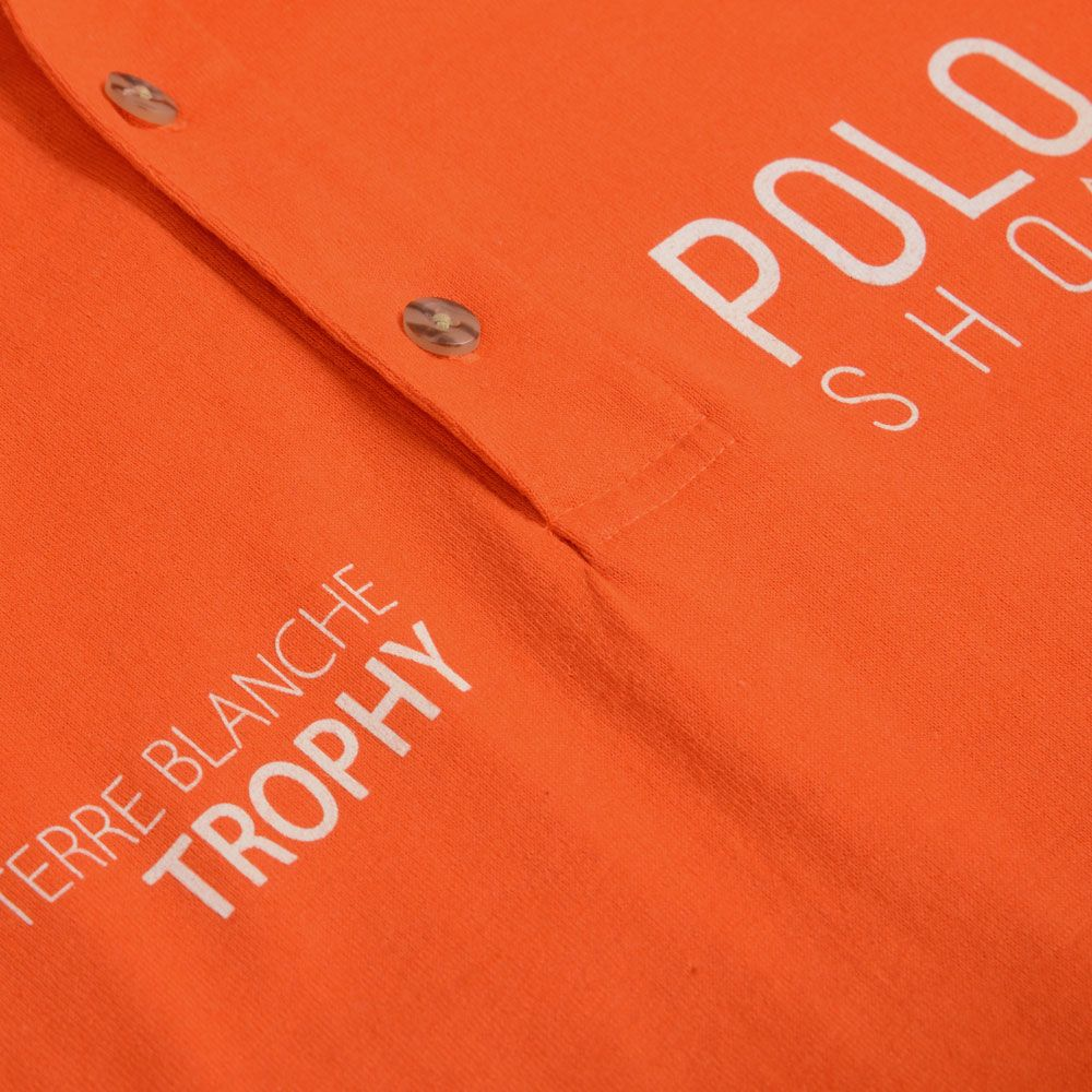 Poloshow poloshirt orange 3