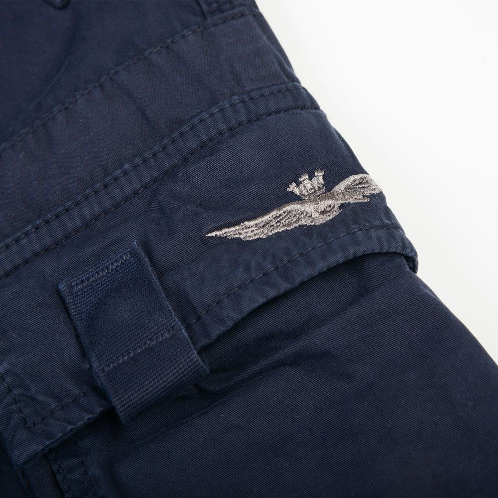 Poloshow short Aeronautica militare blau 171BE003CT1122 3