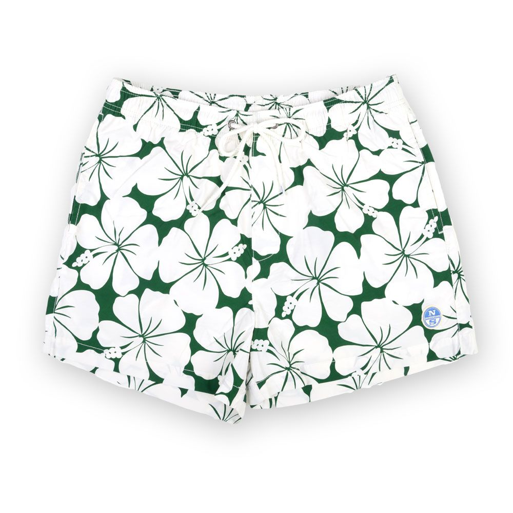 Poloshow short North Sails grün Blumen 67330900000V8320 1