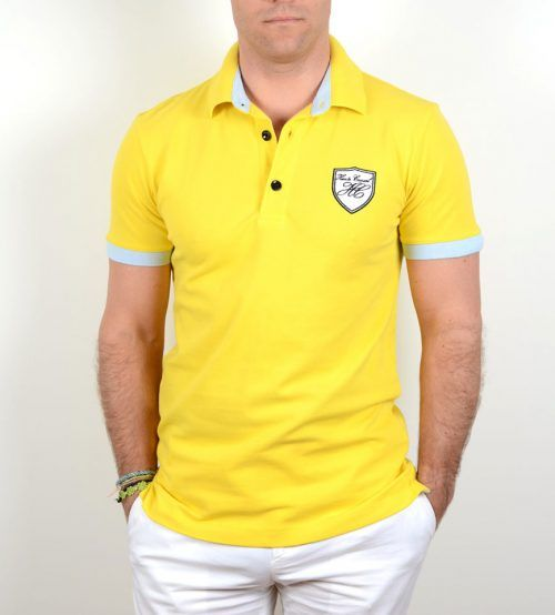 Poloshow Haute Casual 1117 yellow – 21649
