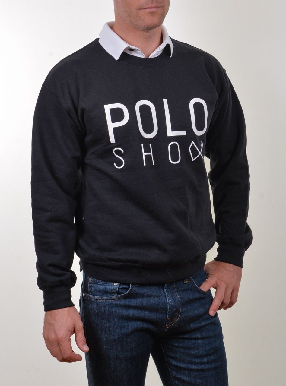 Poloshow Sweater black 4
