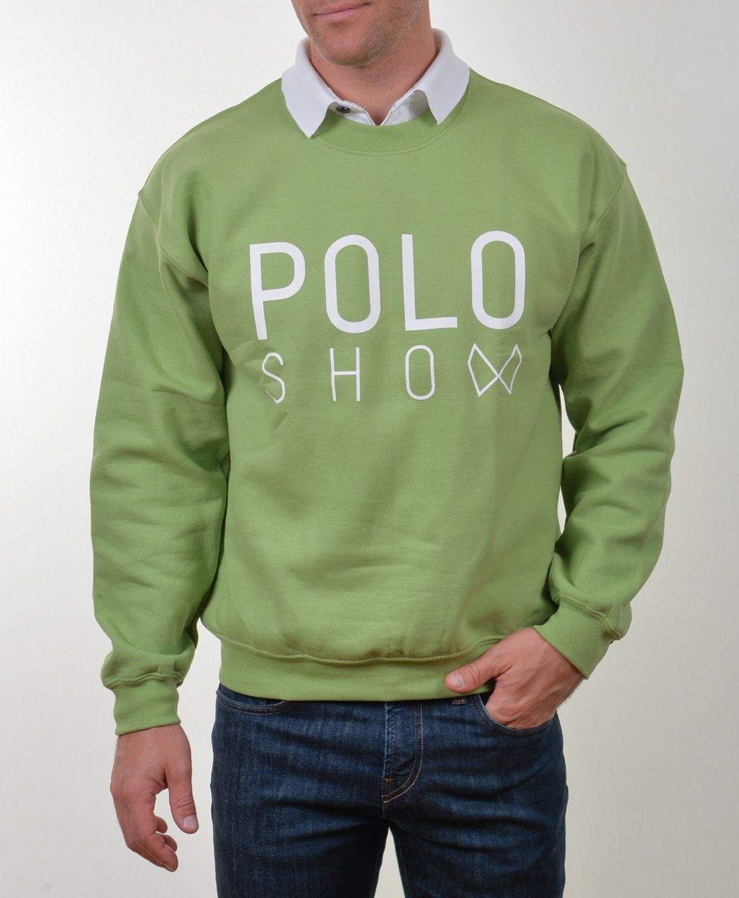 Poloshow Sweater kiwi 4