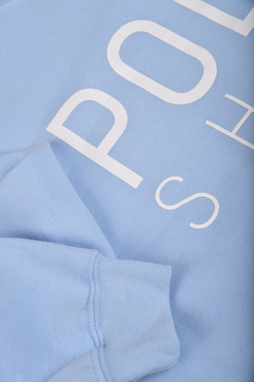 Poloshow Sweater lightblue 3