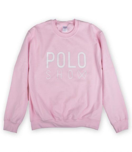 Poloshow Sweater lightpink 1