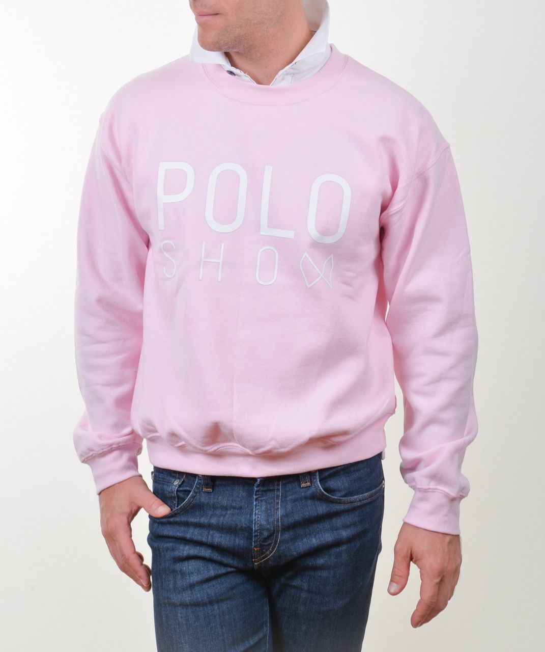 Poloshow Sweater lightpink 4