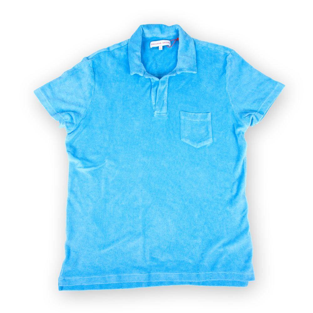 Poloshow polo Orlebar Brown blau 259935XL 1