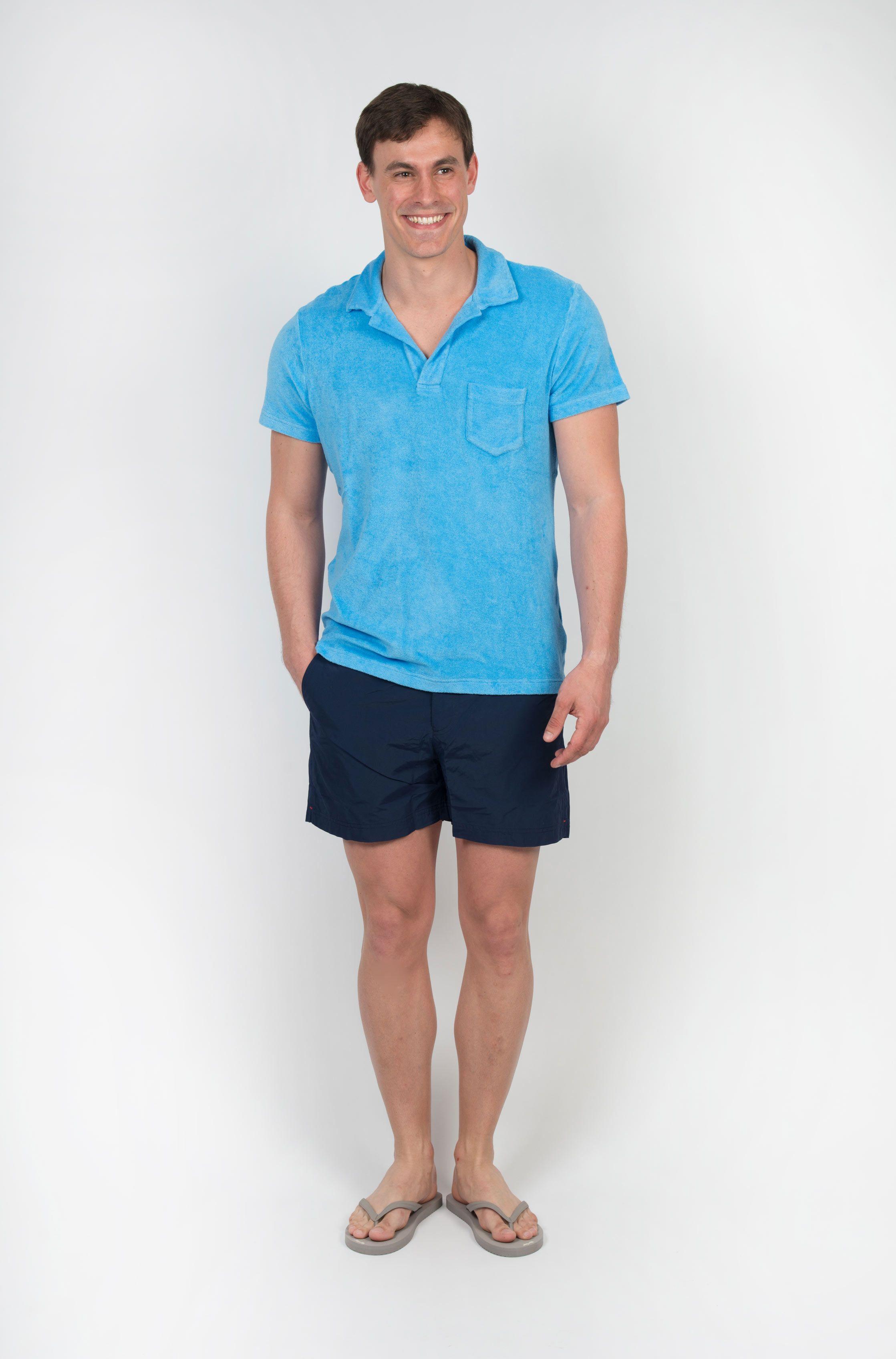 Poloshow polo Orlebar Brown blau 259935XL 7