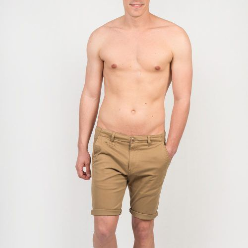 Poloshow short Knowledge Cotton Apparel beige 50115 4