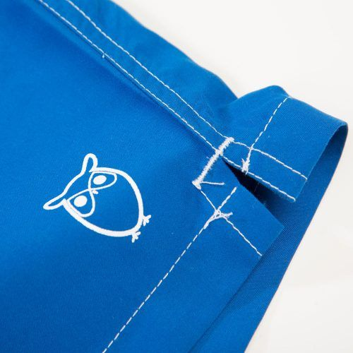 Poloshow short Knowledge Cotton Apparel blau 50110 3