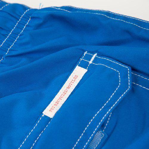 Poloshow short Knowledge Cotton Apparel blau 50110 4