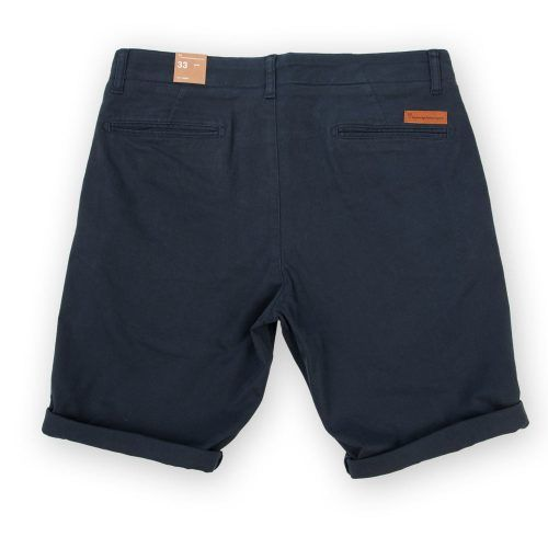 Poloshow short Knowledge Cotton Apparel blau 50115 2