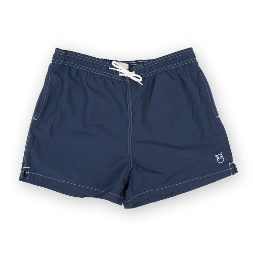 Poloshow short Knowledge Cotton Apparel dunkelblau 50110 1