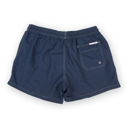 Poloshow short Knowledge Cotton Apparel dunkelblau 50110 2