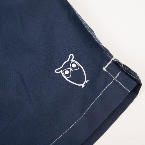 Poloshow short Knowledge Cotton Apparel dunkelblau 50110 3
