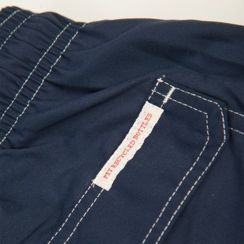 Poloshow short Knowledge Cotton Apparel dunkelblau 50110 4