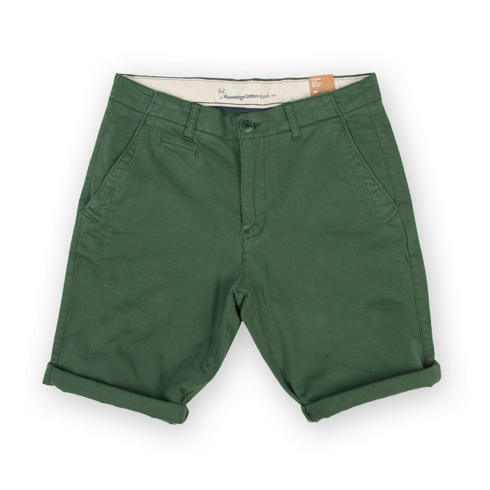 knowledge cotton apparel stretch chino shorts greener pastures poloshow. Black Bedroom Furniture Sets. Home Design Ideas
