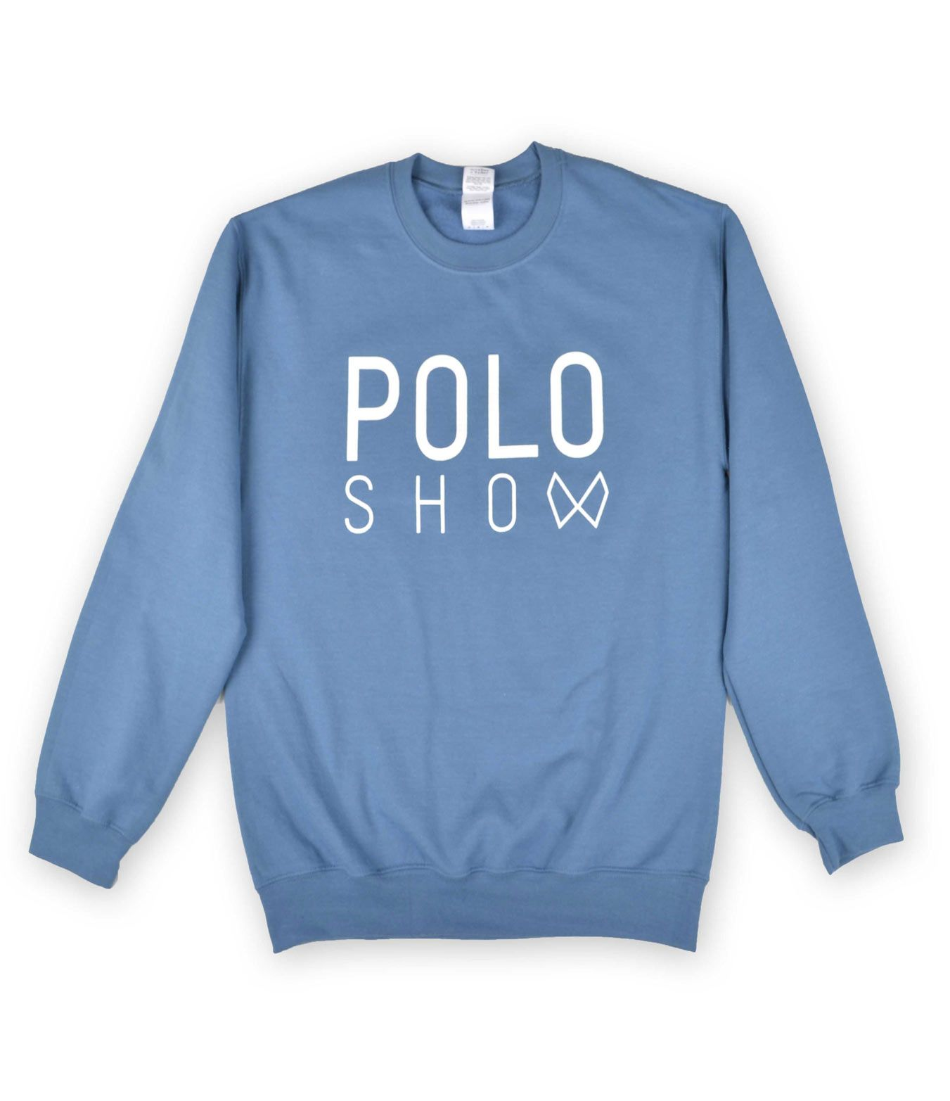 Poloshow sweater antiquesapphire 1