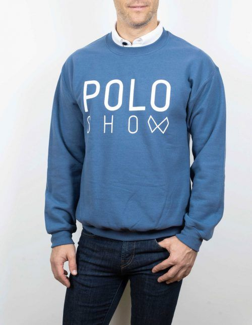 Poloshow sweater antiquesapphire 4