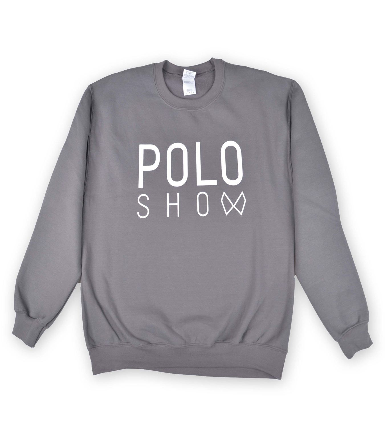Poloshow sweater charcoal 1