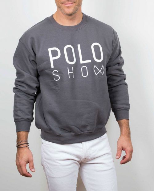 Poloshow sweater charcoal 4