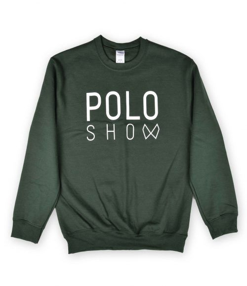 Poloshow sweater green 1