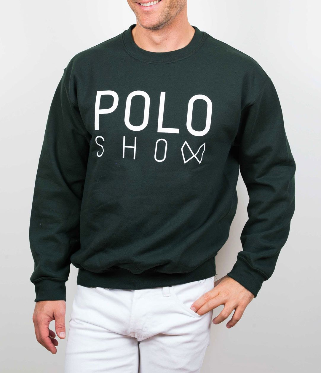 Poloshow sweater green 4
