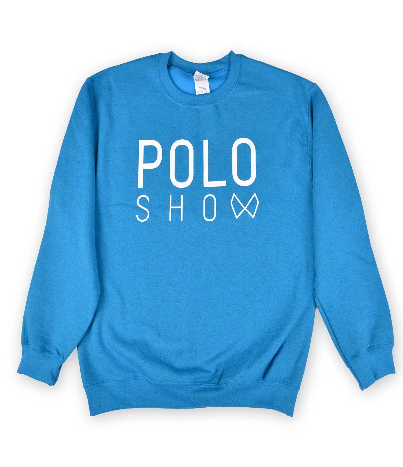 Poloshow sweater indigo 1