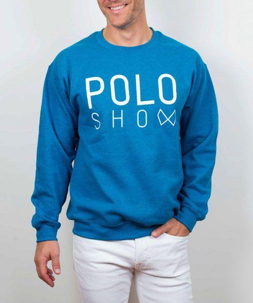 Poloshow sweater indigo 4