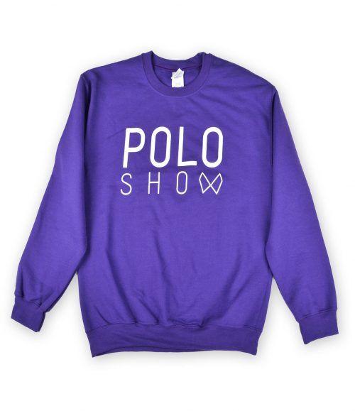 Poloshow sweater purple 1
