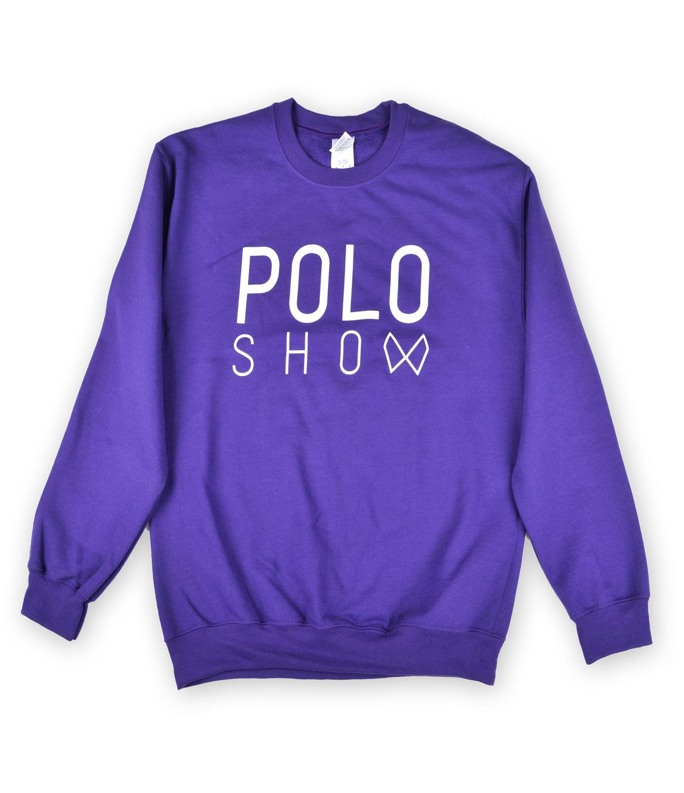 Poloshow sweater purple 1