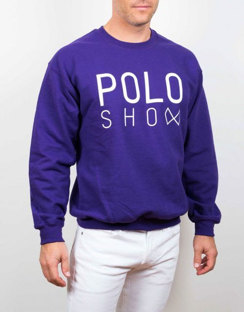 Poloshow sweater purple 4