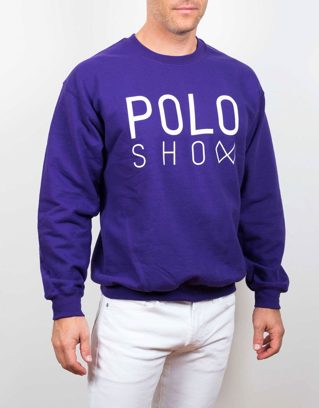 Poloshow sweater purple 4