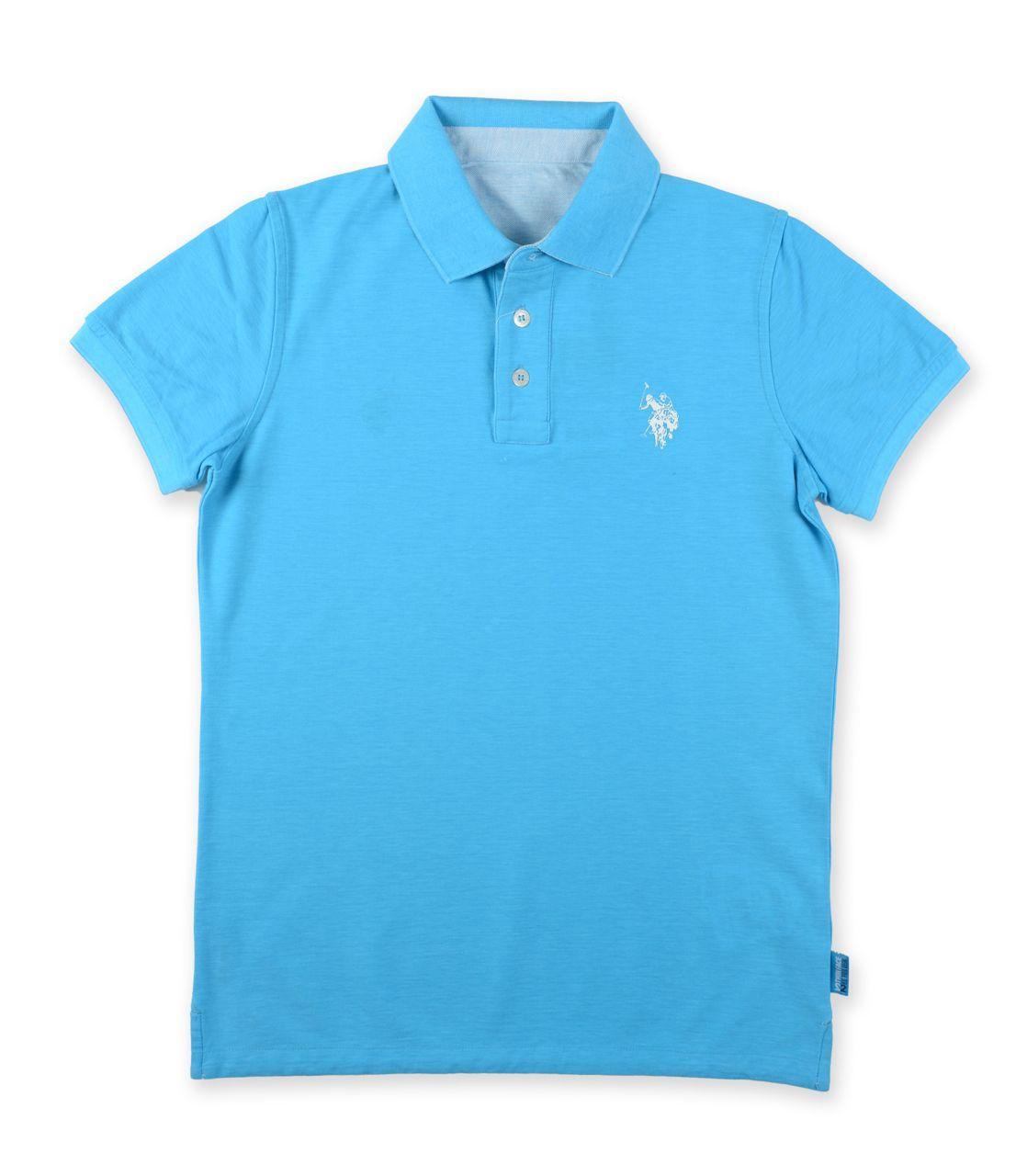 U S Polo Assn Poloshirt Reverso Wendepolo Turkis Weiss