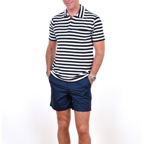 Poloshow polo Orlebar Brown Terry Breton Stripes 265794M 6